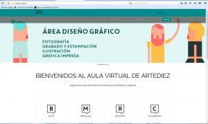 aula virtual Escuela de Arte nº 10